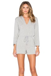 Rachel Pally French Terry Cassius Playsuit Gray