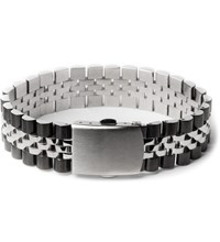 Mister Chrome Black Mr. Band Bracelet