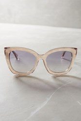 Anthropologie Ambrosia Sunglasses White
