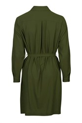 Shirt Dress By Love Khaki