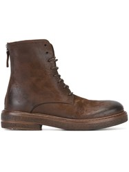 Marsell Lace Up Boots Brown