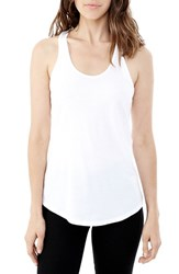 Alternative Apparel Women's Alternative Racerback Cotton Tank White