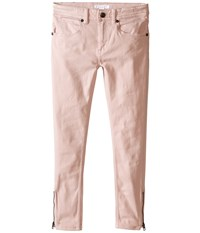 Burberry Skinny 5 Pocket Denim Little Kids Big Kids Powder Pink Women's Jeans White