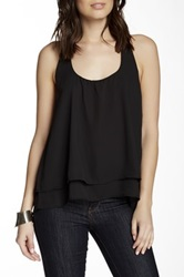 Lucy Love Bow Back Tank Black