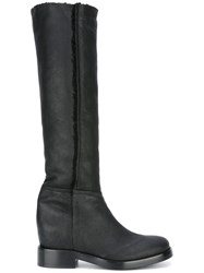 A.F.Vandevorst Knee High Boots Black