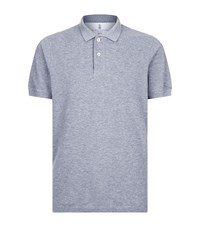 Brunello Cucinelli Slim Fit Polo Shirt Male Grey