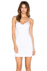 Indah Eve Bodycon Mini Dress White