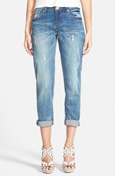 Women's One Teaspoon 'Awesome Baggies' Boyfriend Jeans Pure Blue