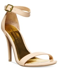 Madden Girl Madden Girl Dafney Two Piece Dress Sandals Women's Shoes Nude Patent