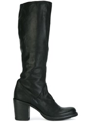 Fiorentini Baker Knee High Ankle Boots Black