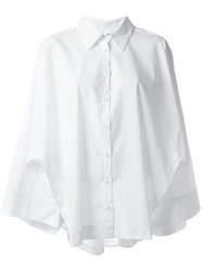 Avelon Cape Shirt White