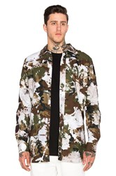 Off White Oxford Shirt Army