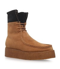 Alexander Wang Selma Leather Boots Female Camel
