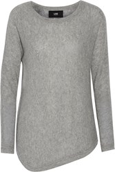 Line Imperfect Cashmere Sweater Gray