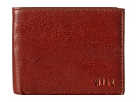 Will Leather Goods Cliff Billfold Wallet Cognac Bill Fold Wallet Tan
