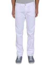 Shaft Denim Pants White