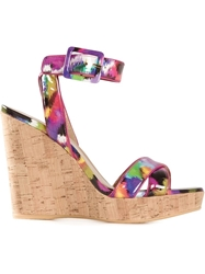 Stuart Weitzman 'Annex' Wedge Sandals