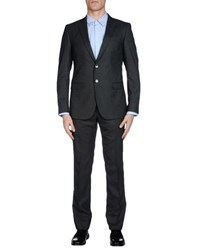 Manuel Ritz Suits And Jackets Suits Men Steel Grey