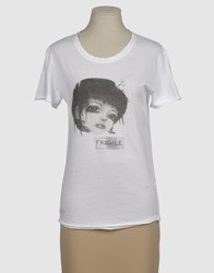 7Moods Topwear Short Sleeve T Shirts Women White