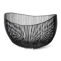 Serax Tale Deep Serving Bowl Black