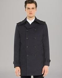Sandro Magnetic Trench Navy
