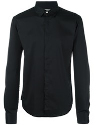 Wooyoungmi Classic Button Down Shirt Black