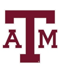 Stockdale Texas A And M Aggies 4' X 4' Decal Team Color