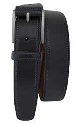 Men's Boconi 'Rinaldo' Leather Belt Black