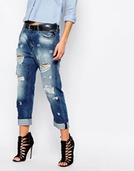 Replay Gracelly Destroyed Boyfriend Jean Blue