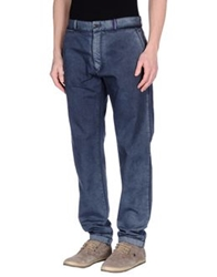 Replay Casual Pants Slate Blue