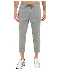 Puma Evo Sweat 3 4 Pants Medium Gray Heather Men's Workout