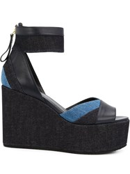 Pierre Hardy Wedge Sandals Blue