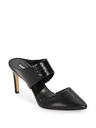 Bcbgeneration Dynasty Embossed High Heel Mules Black