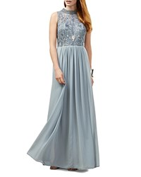 Phase Eight Ione Embellished Gown Powder Blue