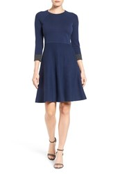 Vince Camuto Women's Fit And Flare Sweater Dress