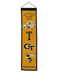 Winning Streak Georgia Tech Yellow Jackets Heritage Banner Team Color