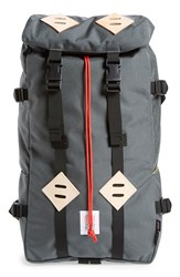 Topo Designs 'Klettersack' Backpack Charcoal