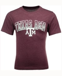 Colosseum Men's Texas A And M Aggies Gradient Arch T Shirt Maroon