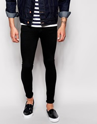 Dr. Denim Dr Denim Jeans Dixy Low Spray On Extreme Super Skinny Black