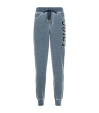 Juicy Couture Burnout Terry Sweatpants Female Grey