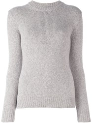 Ermanno Scervino Knit Sweater Grey