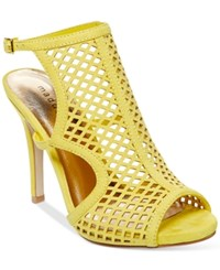 Madden Girl Madden Girl Regalll Caged Dress Sandals Women's Shoes Yellow