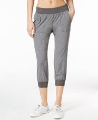 Calvin Klein Performance Woven Cropped Pants Grey