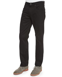 J Brand Jeans Kane Five Pocket Twill Jeans Black