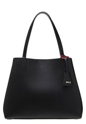 Abro Handbag Black Red