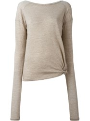 Humanoid 'Poky' Jumper Nude And Neutrals