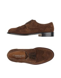 Cantarelli Footwear Lace Up Shoes Men Brown