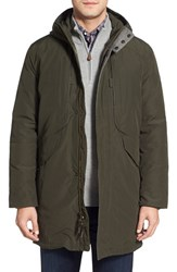 Men's Cole Haan Water Resistant Insulated Parka Fatigue