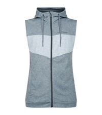 Peak Performance Structured Hooded Vest Male Light Grey