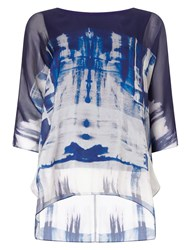 Phase Eight Martyna Silk Top Blue